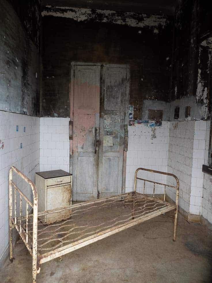sao tome old forgotten hostpital