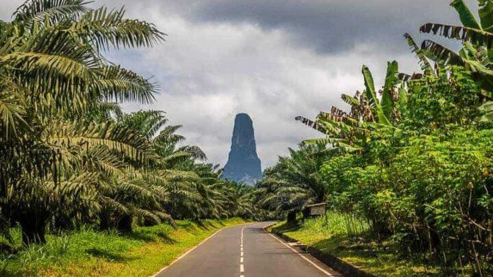 Pico Cão Grande, Sao tome