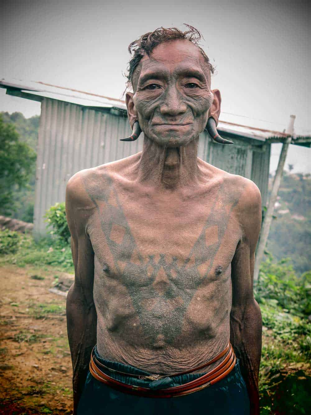 Nagaland warrior Longwa