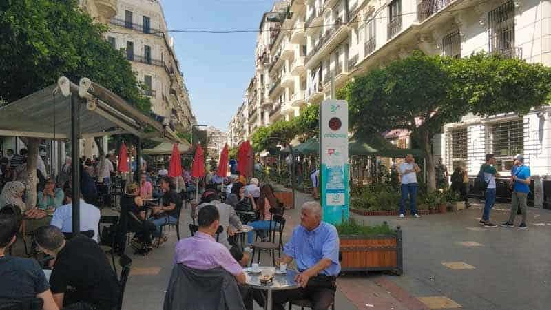 street life of Algiers