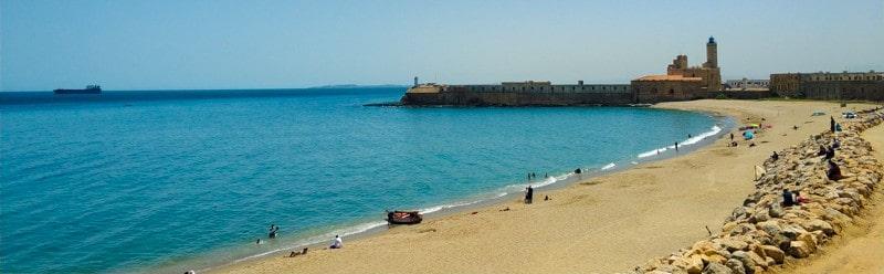 beach in Algiers