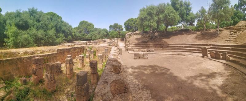roman ruins in algeria