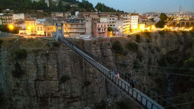 Mellah-Slimane Footbridge Algeria