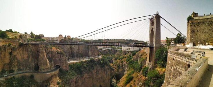 The Gantaret El Hibal bridge algeria