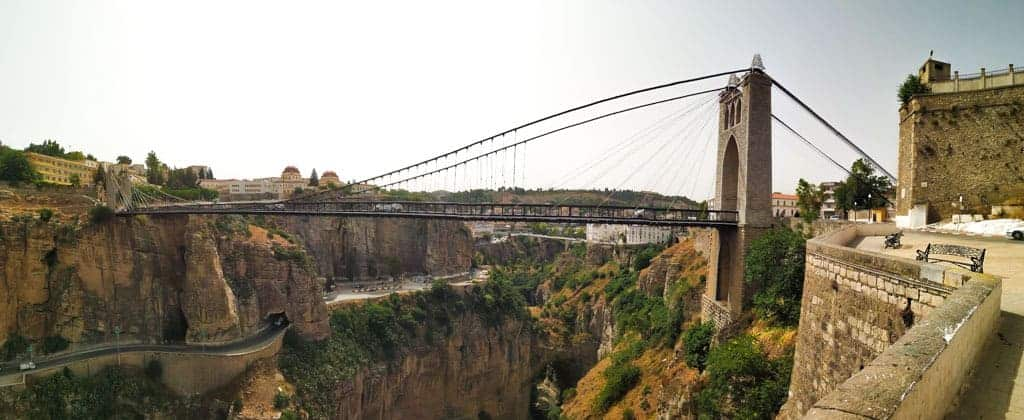 The Gantaret El Hibal bridge, once the highest bridge in the world when it was built in 1912