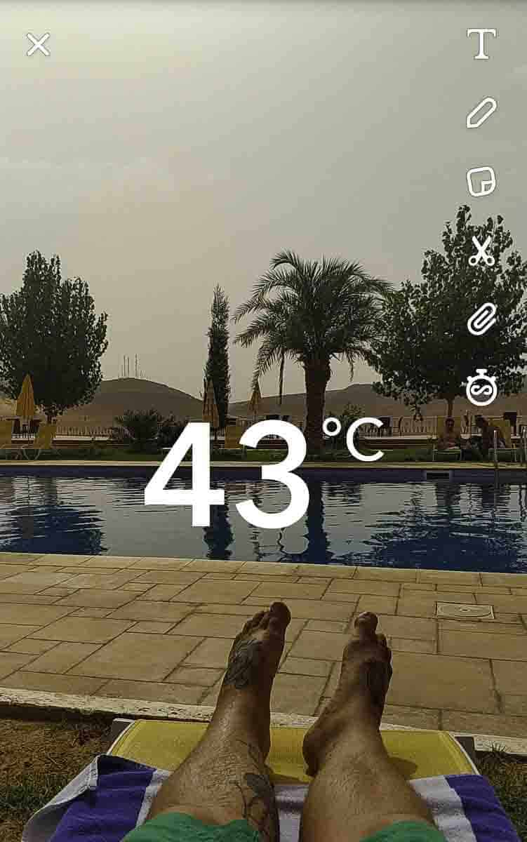 it can get really warm in Algeria