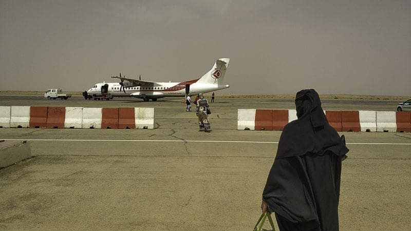 traveling with domestic flights in Algeria