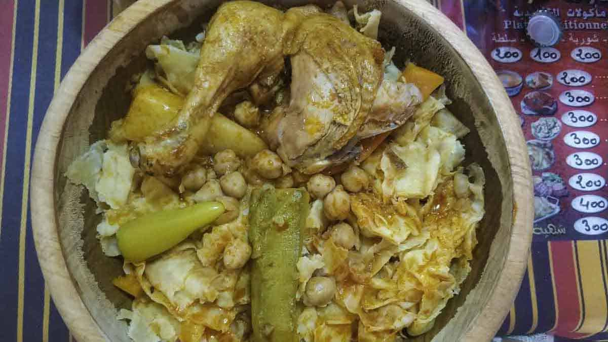 local food in Algeria