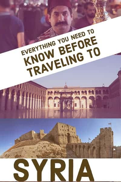 Complete Travel Guide To Syria, everything you need to know