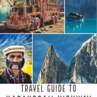 Travel guide to Pakistan and the karakoram highway