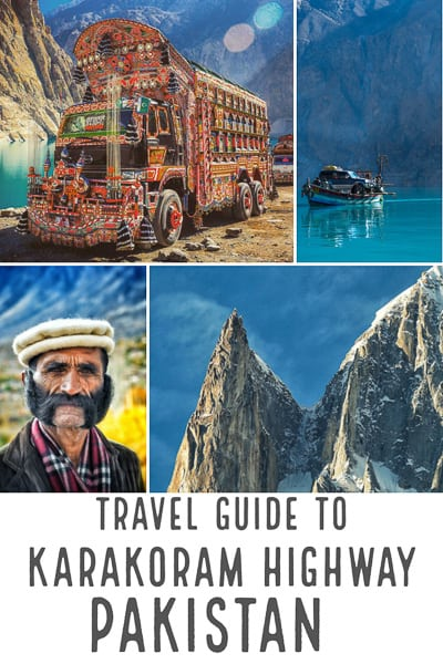 Travel guide to Pakistan and the karakoram highway