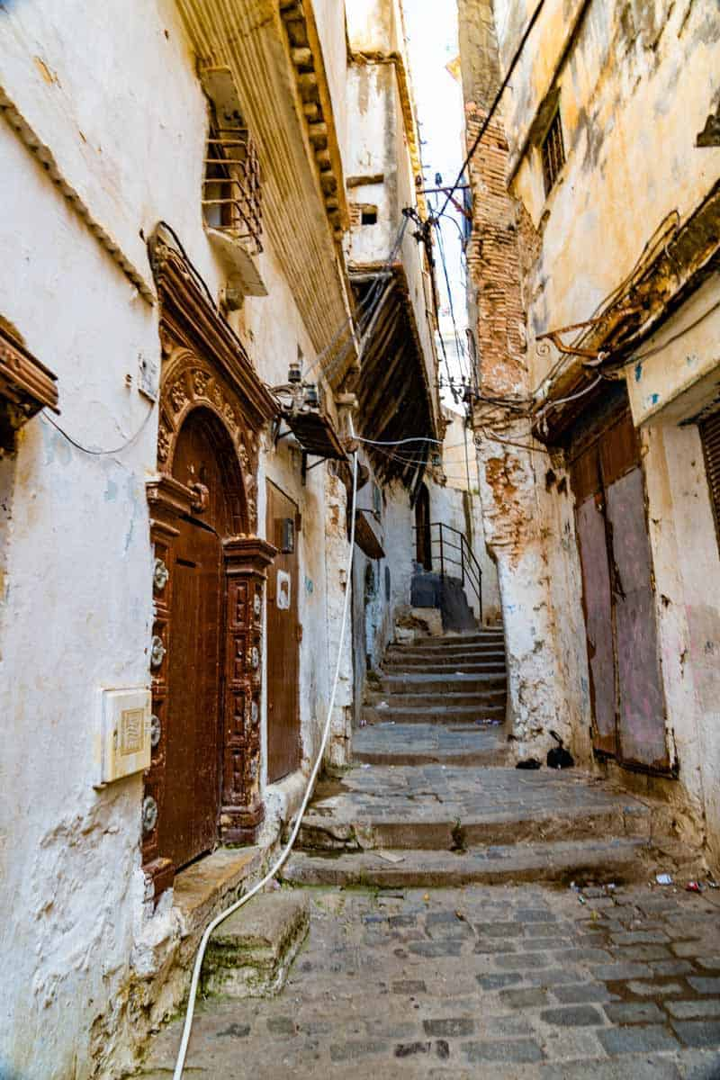 back streets of Algiers