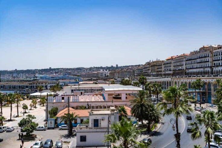 algiers waterfront algeria