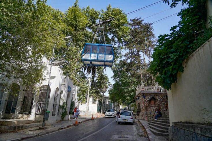 Algiers cable car algeria