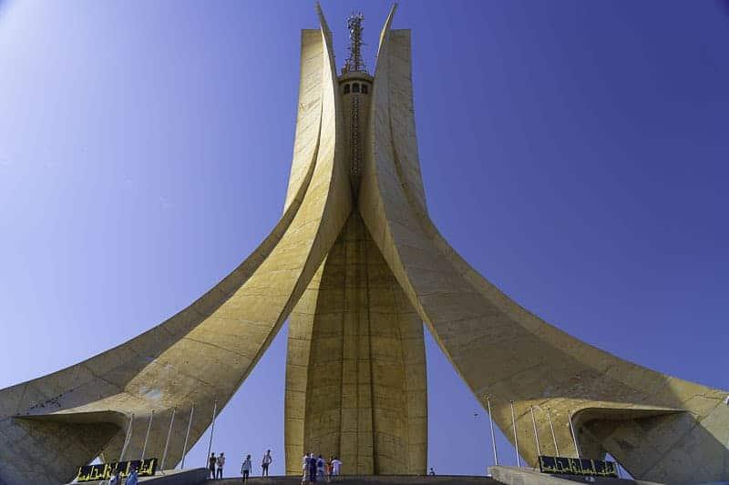 Martyrs' Memorial, Algiers, algeria,africa