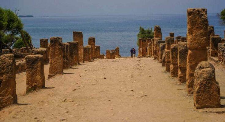 Roman ruins Algeria
