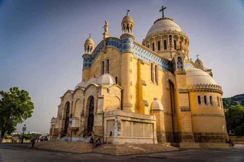 Notre Dame d'Afrique is a Roman Catholic Church.