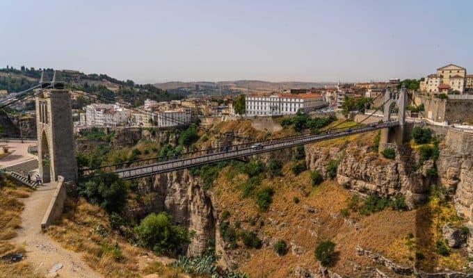 The Gantaret El Hibal bridge, once the highest bridge in the world when it was built in 1912 in CONSTANTINE