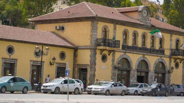 CONSTANTINE railway station Algeria