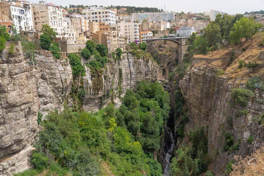 The El Kantara Bridg in Constantine Algeria, travel guide