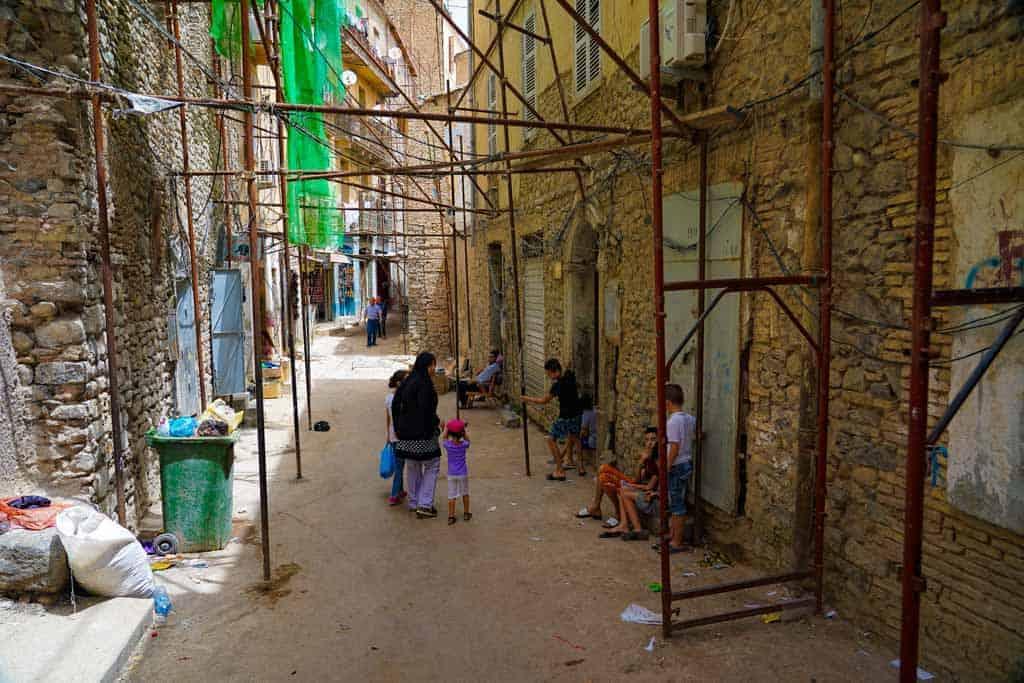local streets in Constantine Algeria