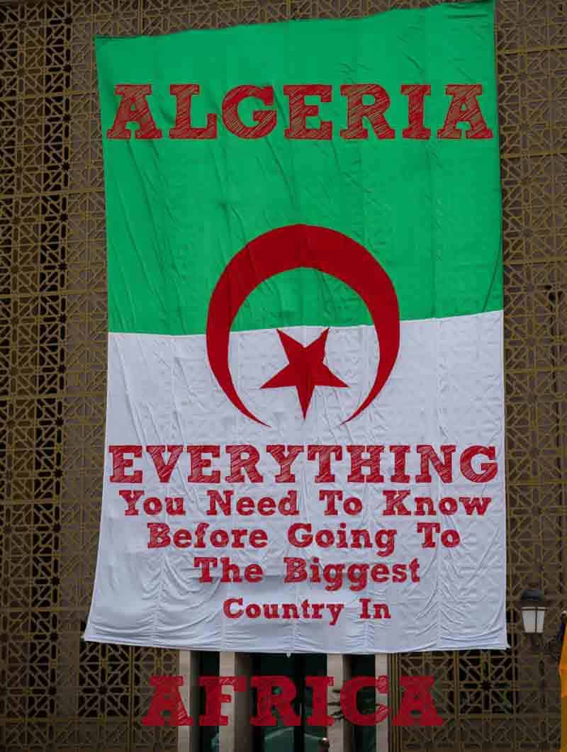 Planning A trip to Algeria? famous for being of of the hardest visas to obtain in the world. rich with history, 7 Unesco world heritage sites, sahara dessert