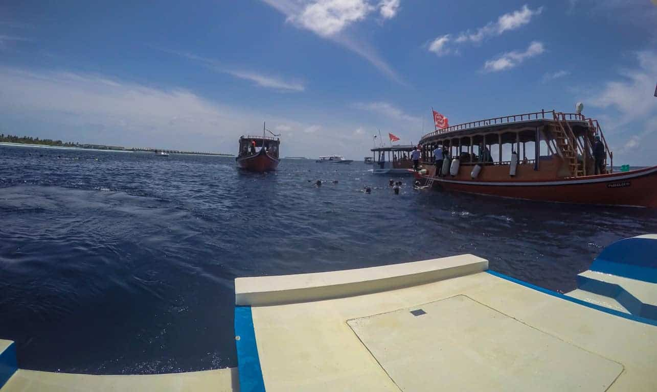 Dhigurah can get crowded
