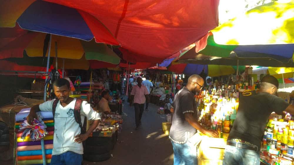 Vola Vola market.