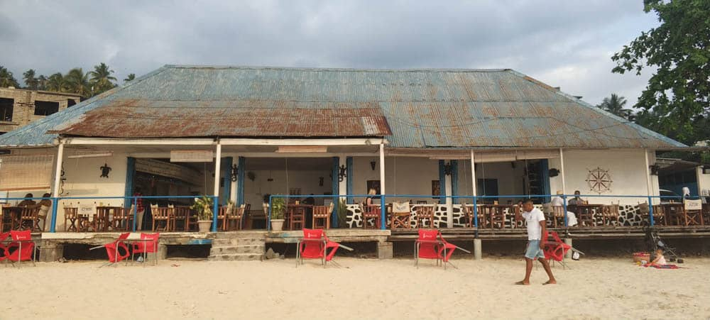 One of few forigen run resturants in Comoros, this is also one of few places you can buy alcohol