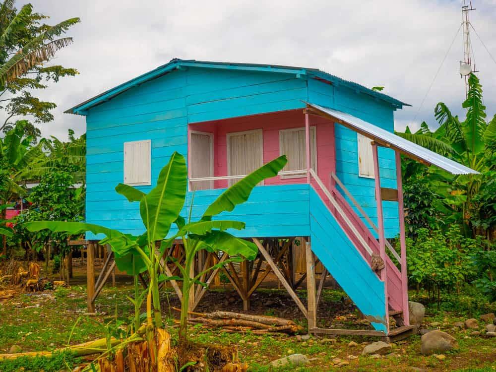 A local house in Santa Catarina