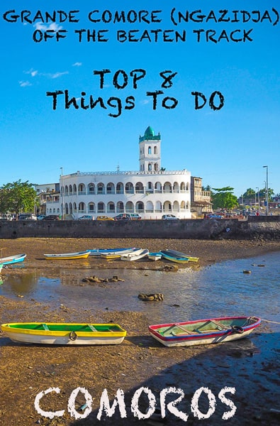 Travel guide to GRANDE COMORE (NGAZIDJA) the biggest island in Comoros, East Africa. A real of the beaten track destination. And home to one of the most beautiful unknown beaches in the world