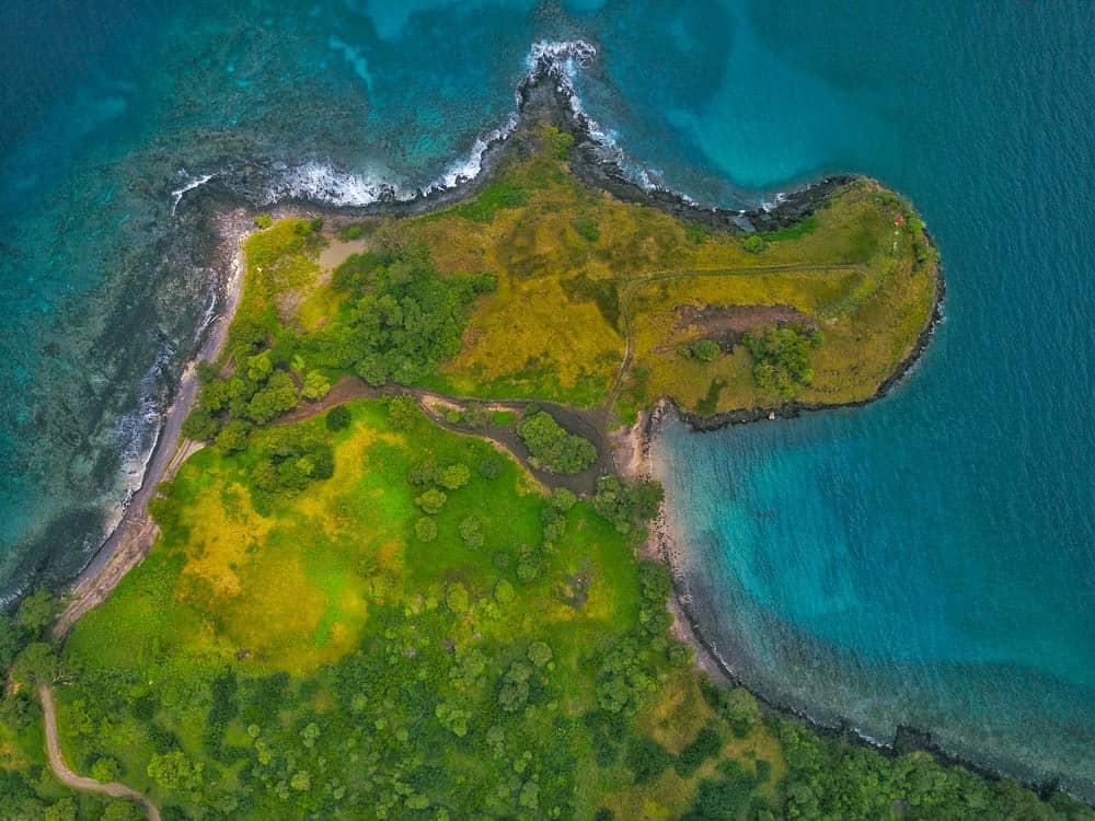 Drone photo of Lagoa Azul