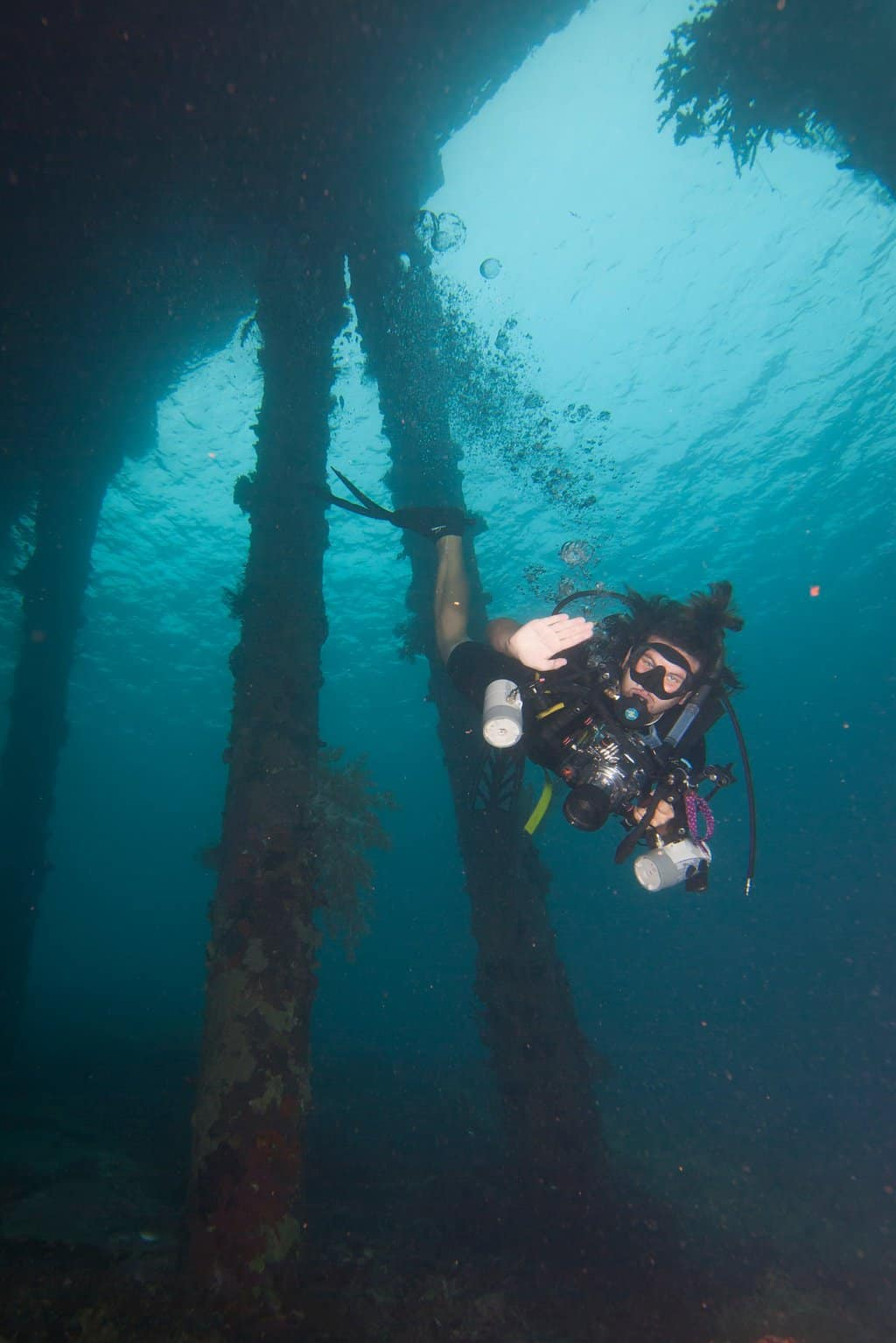 Diving in East Timor in south east asia