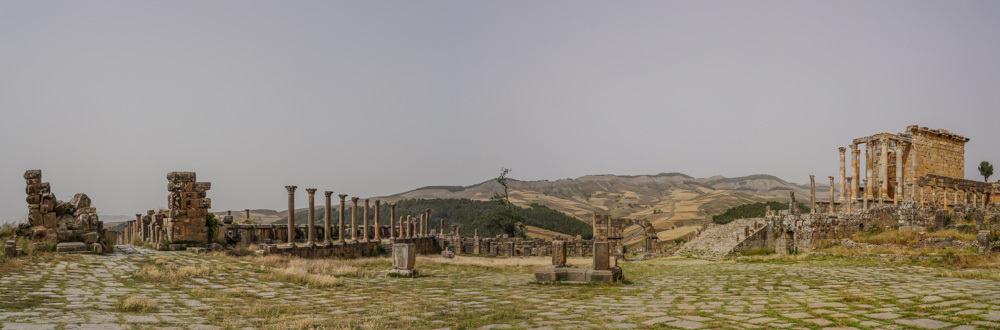 algeria djemila roman ruins