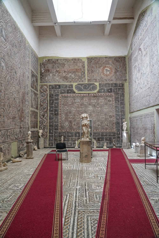 Mosaic in Djemila Algeria