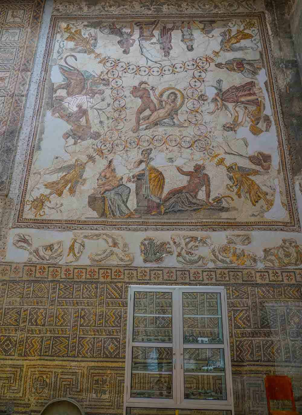 Djemila museum in algeria