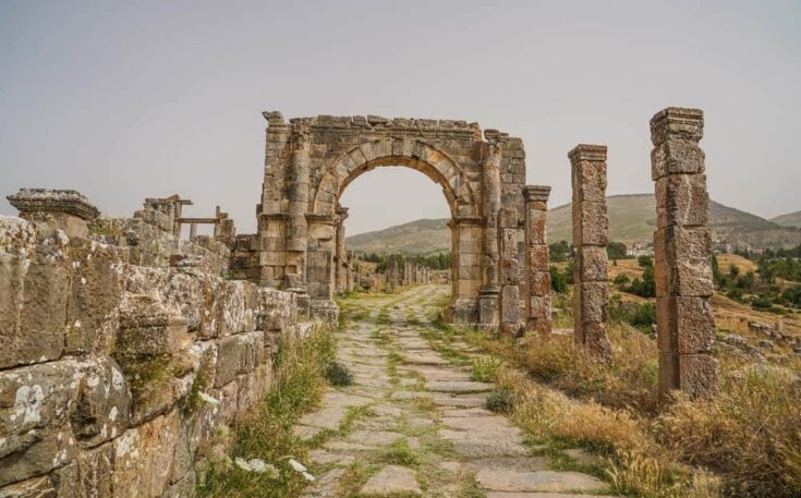 Cardo Maximus Road