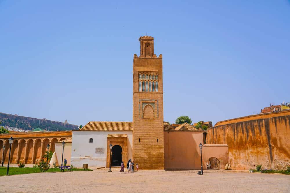 The Minarat at El Mechouar Mosque