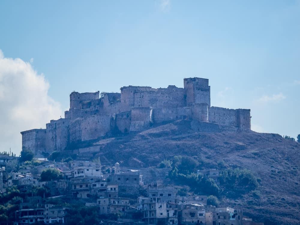 Krak des Chevaliers , visit syria