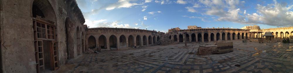 The grand Mosque in Aleppo
