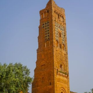 The 38meter tall Minaret Mansourah