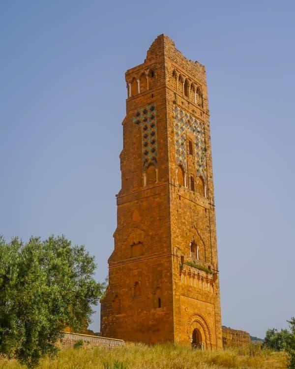 The 38meter tall Minaret Mansourah