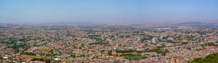 panoramic view over Tlemcen