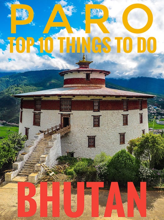 e travel guide to The vast idyllic valley of Paro, Bhutan