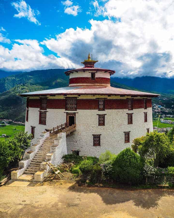Bhutan national museum in Paro