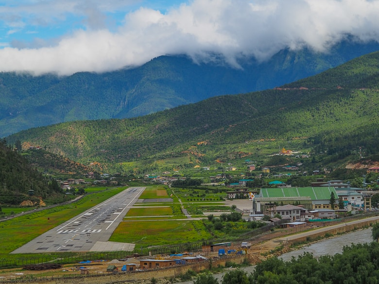 Paro Airport The only international airport in Paro, Bhutan and your way to bhutan