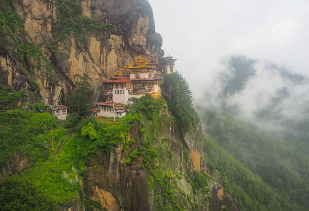 Taktshang Monastery/ Tiger's Nest Monastery in Paro, Bhutan