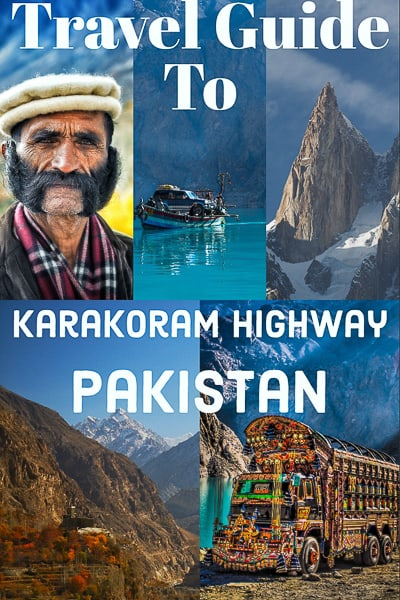 The Karakoram Highway often just called KKH, is ahighway that runs about 1.300km (800 miles) from Abbottabad in Pakistan to Kashgar in the province of Xinjiang in west China.