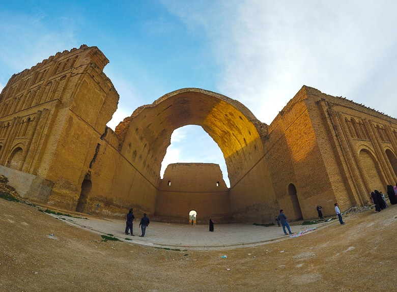 Ctesiphon the old Persian city Iraq