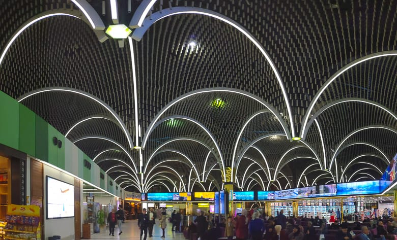 Inside Baghdad Airport in Iraq largest airpot in Iraq